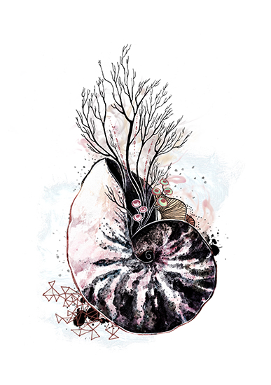 art prints - Flux and Flume by BreeAnn Veenstra