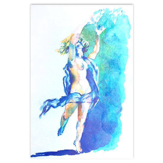 art prints - Whimsical Lady by KANDI COTA