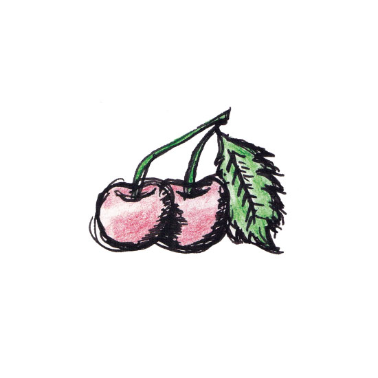 art prints - Very Cherry by Jessica Mighton