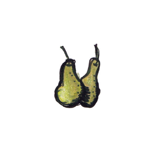 art prints - Pleasing Pear by Jessica Mighton