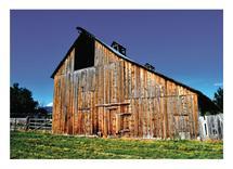 Textured Barn by Amy Stevenson Wilson