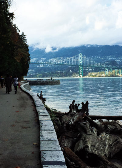 art prints - City Seawall by Jessica Mighton