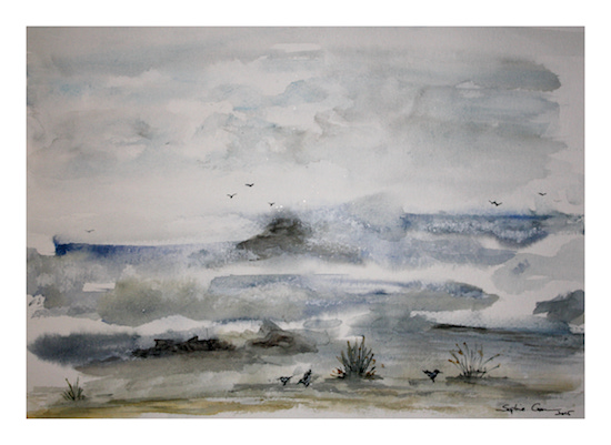 art prints - Embruns Sales by Sophie Coon