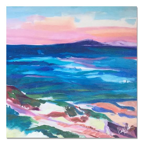 art prints - Seaside Monterey by KANDI COTA