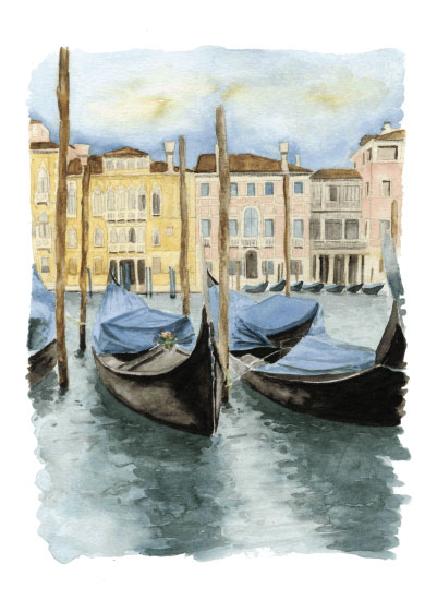 art prints - The Grand Canal by Terri Crockett