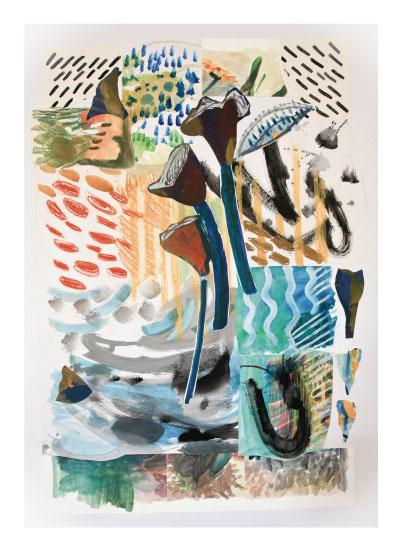 art prints - Jungle Rain by Jill Whatley