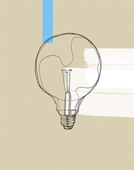 art prints - Bulb Study No. 1 by Kelly Christina