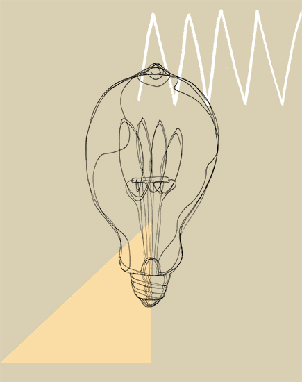 art prints - Bulb Study No. 2 by Kelly Christina