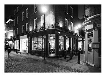 London Shop on the Corner