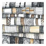 Stack of Rugs by Kelly Christina