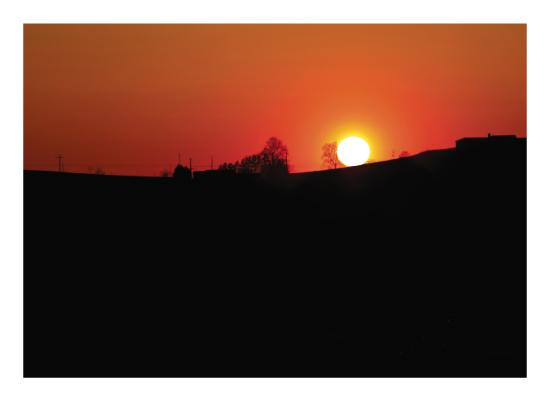 art prints - Sunset On The Horizon by Heather Miller
