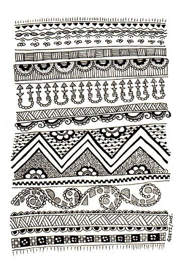 art prints - Dhurrie Pattern - I by ArtLab700