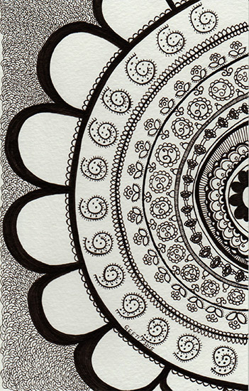 art prints - Dhurrie Pattern - II by ArtLab700