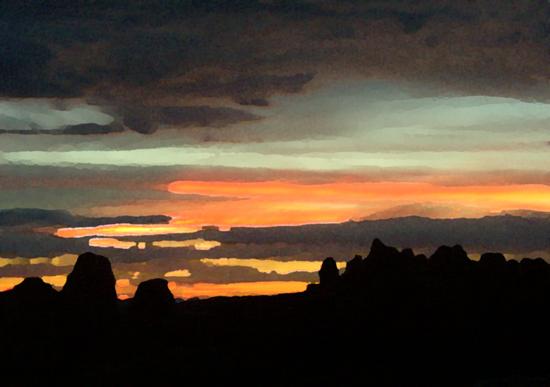 art prints - Utah Skyline by Katy Fishman