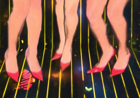 art prints - Girls Night Out by Katy Fishman