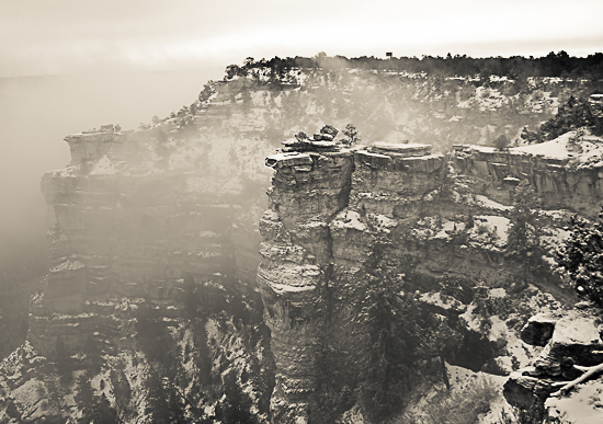 art prints - Misty Canyon by Jamie Kennedy