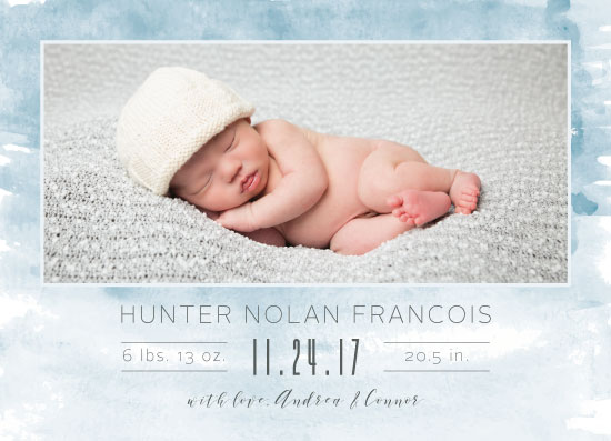 birth announcements - Brand New Baby by Mabe Design Co.