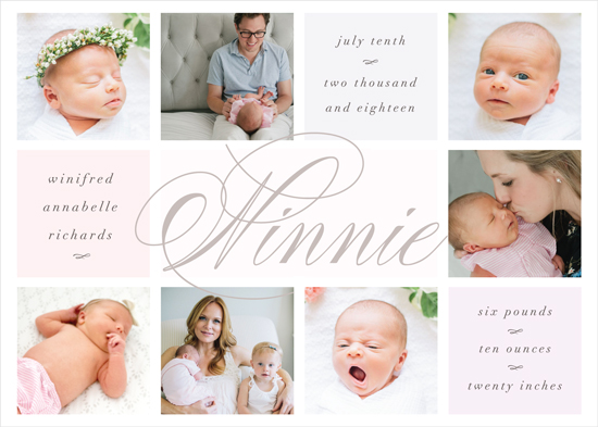 birth announcements - The Nickname by Christie Kelly