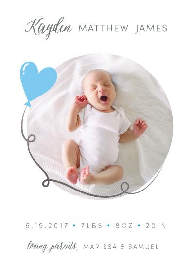 birth announcements - Balloon Design by Tamika Harvey