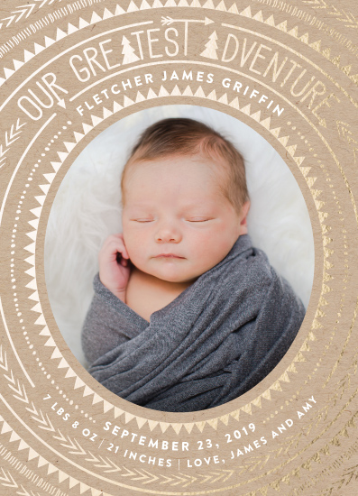 birth announcements - Bold Adventure by Joanna Griffin