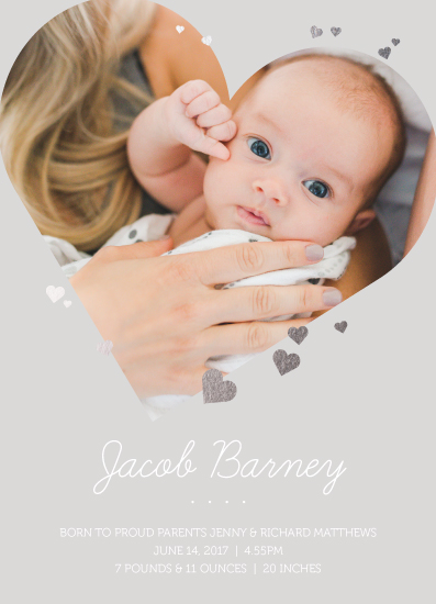 birth announcements - Pure Love by Katy Clemmans