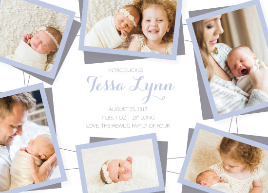 birth announcements - Baby Photo Mobile by JOHNONE 3 DESIGNS