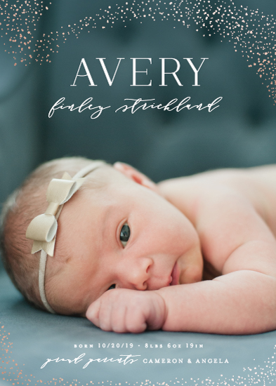 birth announcements - Lucky Stars by Hooray Creative