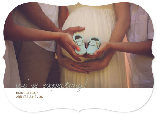 birth announcements - Expecting by Jessica Mighton