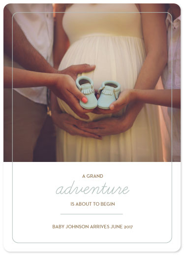 birth announcements - A Grand Adventure by Jessica Mighton