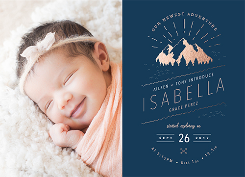 birth announcements - Our Newest Adventure by Aileen Pasion
