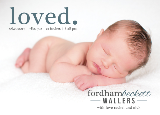 birth announcements - My Little Love by Janelle Williams