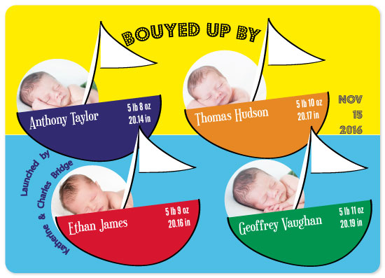 birth announcements - Bouyed Up by Dazeley