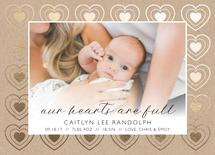 Hearts are Full by Mabe Design Co.