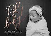 Oh Baby! Calligraphy by Manayunk Calligraphy