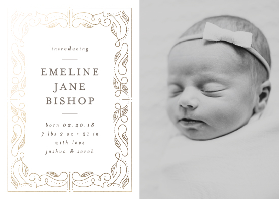 birth announcements - Our Story by Lehan Veenker