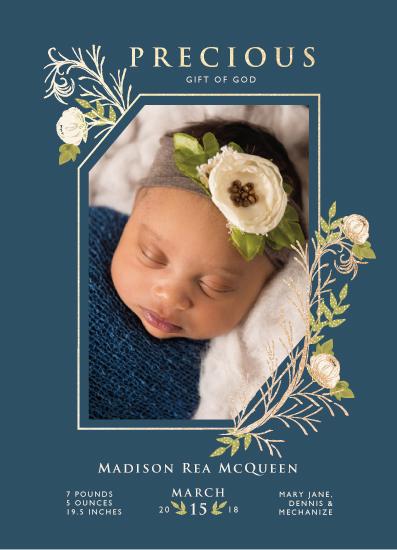 birth announcements - Precious Gem by CaroleeXpressions