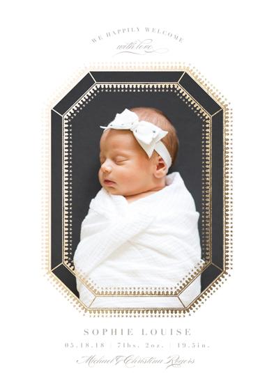 birth announcements - little jewel by Carolyn Nicks