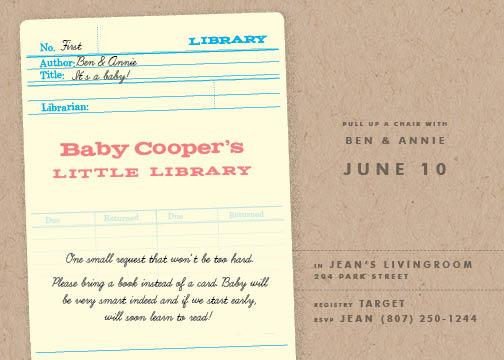 baby shower invitations - Due date by Heather Cranston-Lesniewski