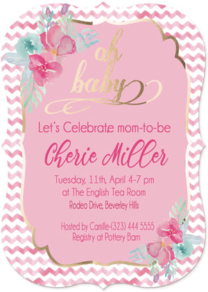 baby shower invitations - Celebrate Baby by Roshni Anand