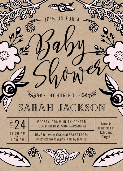 baby shower invitations - Baby Garden Shower by Mabe Design Co.