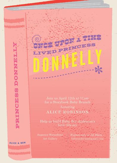baby shower invitations - A Storybook brunch - girl by Heather Cranston-Lesniewski