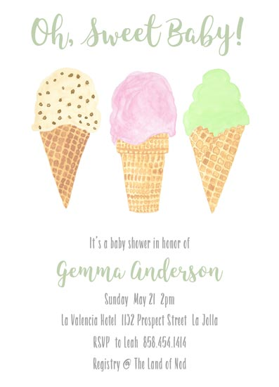 Baby Shower Invitations Oh Sweet Baby At Minted Com