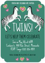 Zebra Twins by Shoshannah