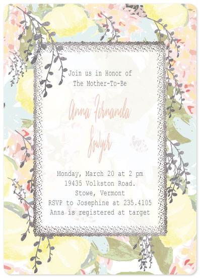 baby shower invitations - Mommy To Be! by Vivian Design
