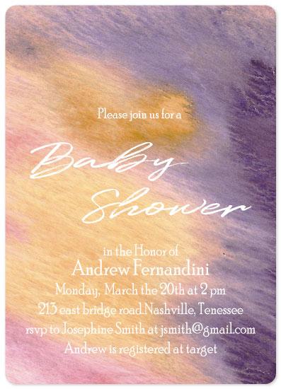 baby shower invitations - Baby by Vivian Design