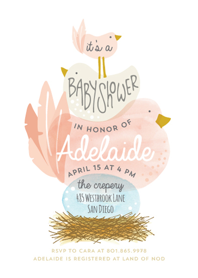 baby shower invitations - Ready to Hatch by JeAnna Casper