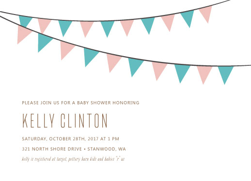 baby shower invitations - Baby shower banners by Marnel