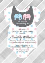 Elephant gender reveal... by Willow Lane Paper