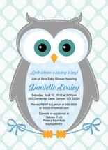 owl baby shower invitat... by Willow Lane Paper