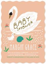 Swan Baby Shower by Stacie Bloomfield